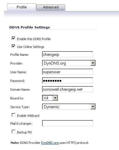 Configuring Dynamic DNS