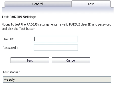 Adding or Editing a Domain with RADIUS Authentication