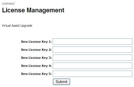 new activation key