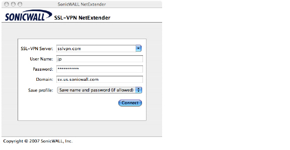 how to change ip address for netextender